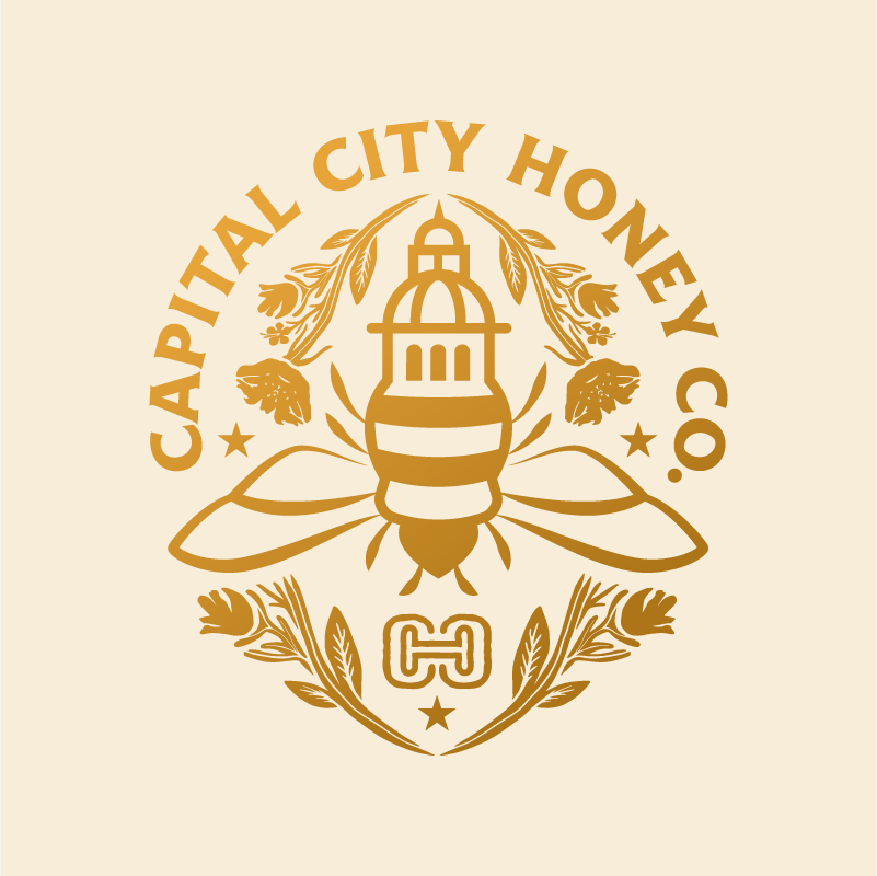 Capital City Honey Logo