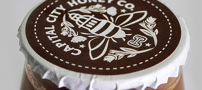 Capital City Honey Co. Logo Selected to Appear in Communication Arts 2020 Design Annual